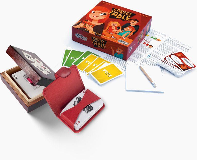 Spillekort med logo tryk