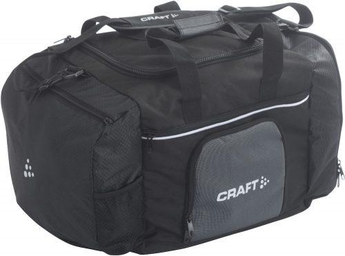 Sportstaske fra craft super anvendelig med mange rum