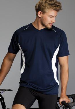 Løbe t-shirt god funktionalitet kommer i flere farvekombinationer