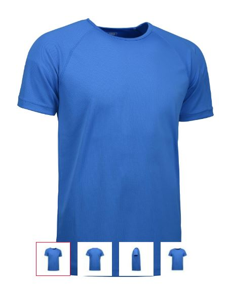 DHL Active game løbe t-shirt flatlock