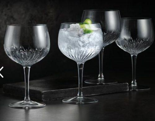 Luigi Bormioli Gin-Tonic glas 6, super flt design