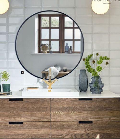Spejl til badeværelse eller gang, psser ind de fleste steder