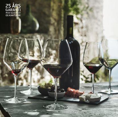 Luigi Bormioli Atelier vinglas tilbyder vi at du frit kan vælge imellem 5 modeller