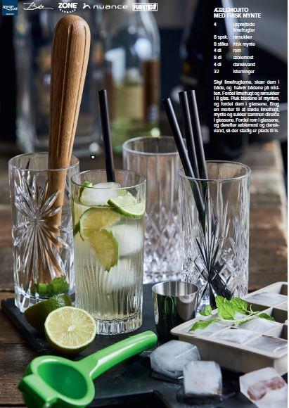 Drinkspakke til longdrinks til hjemmebaren. Hop med på trenden med en veludstyret hjemmebar