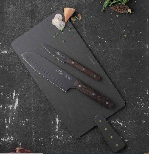 Sabatier Phenix knivsæt 3 dele kommer i et helt nyt design og i sort. Kvaliteten er helt i top med fokus på funtionalitet og smart design