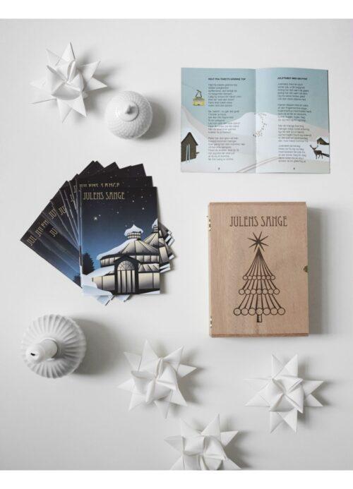 Julesamler i lækker æske fra ViSSEVASSE, for den kvalitetsbevidste. En rigtig flot gave at give og modtage i jules tid.