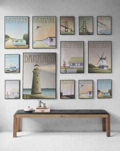 Plakater fra ViSSEVASSE mange motiver, størrelser og farvevalg. Virkelige flotte og på et højt niveau, som fortæller hver deres egen historie.
