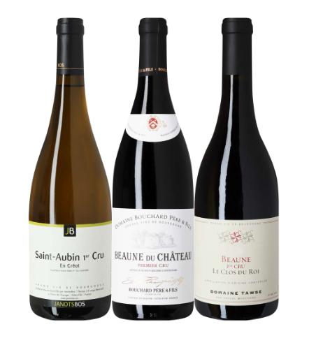 Vinpakke fra Bourgogne, det taler vist for sig selv. Rigtig flot pakke til en rigtig skarp pris. Fra de bedste områder, både rød og hvid, alle 1 cru og kan tåle at ligge lidt.