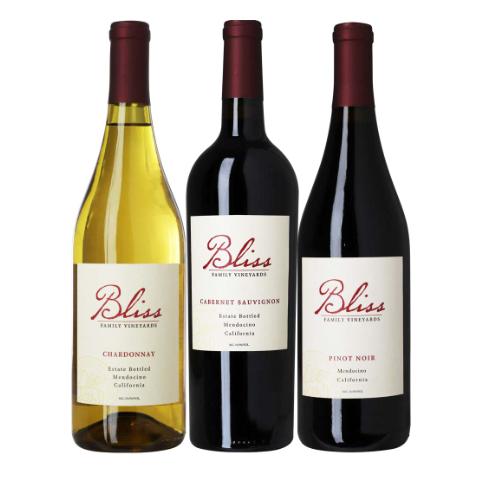 Vinpakke fra Californien, en dejlig pakke med masser af smag, og vi har her 3 forskellige druer man skal igennem. God fornøjelse