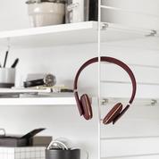 KREAFUNK aWEAR bluetooth høretelefoner, aWEAR passer perfekt ind i hverdagen i flot design. . Høretelefonerne er foldbare, fleksible, neme at have i tasken.