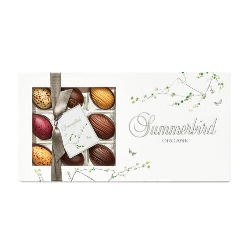 Summerbird Spring farvorites 9 stk. er vores påskebud, der hylder de klassiske smage, den moderne gastronomi. Alle sanser, indtryk bliver sat i spil