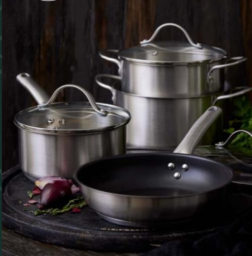 PILLIVUYT GOURMET GRYDESÆT og stegepande, Pillivuyt Gourmet-serien Loire er godt allround kogegrej, der sikrer dig et godt resultat med alle dine yndlingsopskrifter.